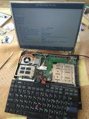 Продам ноутбук IBM ThinkPad R40e возможно по частям